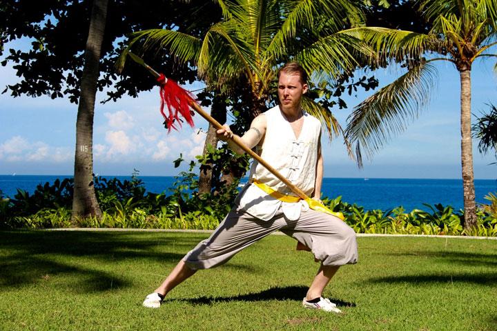 Instruktorenbild des Shaolin Chan Tempels Schweiz, Serge Kaulitz.