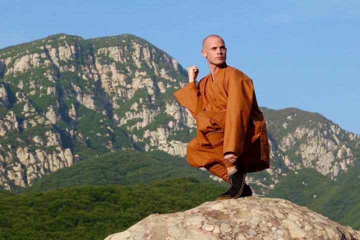 Instruktorenbild des Shaolin Chan Tempels Schweiz, Stefan Buholzer.