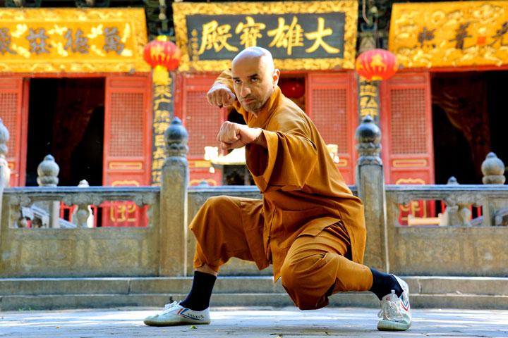Meisterbild des Shaolin Chan Tempels Schweiz, Yong Lin, Salvi Ferrara.