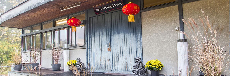 Eingang: Shaolin Chan Tempel Institut Aargau - Schweiz.