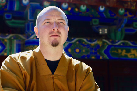 Portrait von Kung Fu Meister Shi Yong Wen, Thomas Degen.