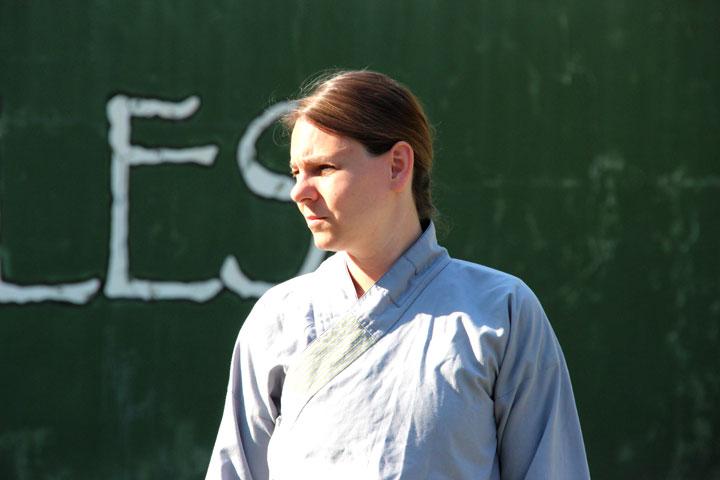Gesichter am Internationalen Shaolin Gathering. Portrait von Fabienne Bucher.