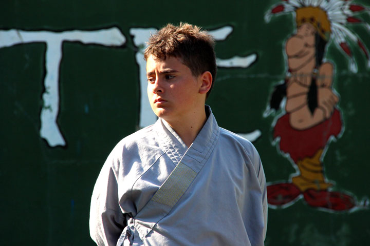 Gesichter am Internationalen Shaolin Gathering.