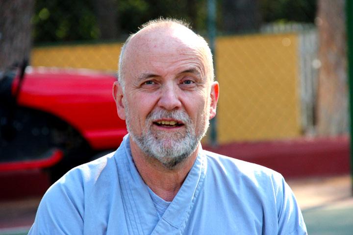 Gesichter am Internationalen Shaolin Gathering. Portrait von Kurt Margadant.