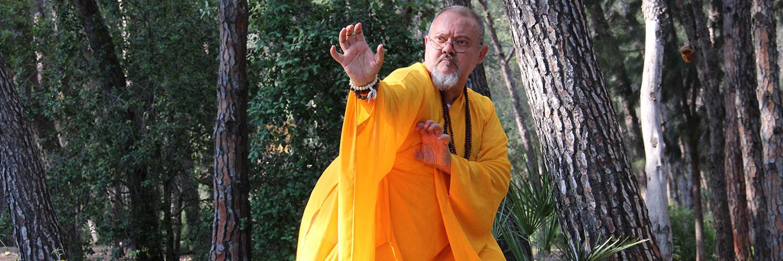 Shaolin Meister Shi Yan Jia.