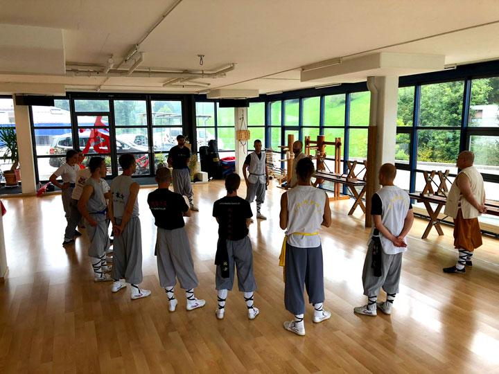 Shaolin Anwendungsseminar im Shaolin Chan Tempel Luzern.