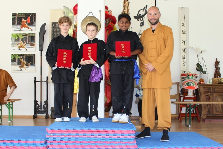 Shi De Feng Shaolin Tournament - Sieger Kinder