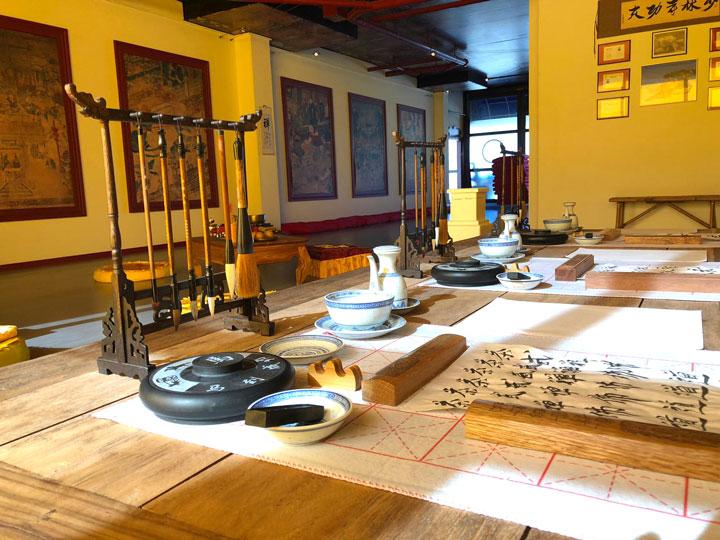 Raum im Shaolin Chan Tempel.