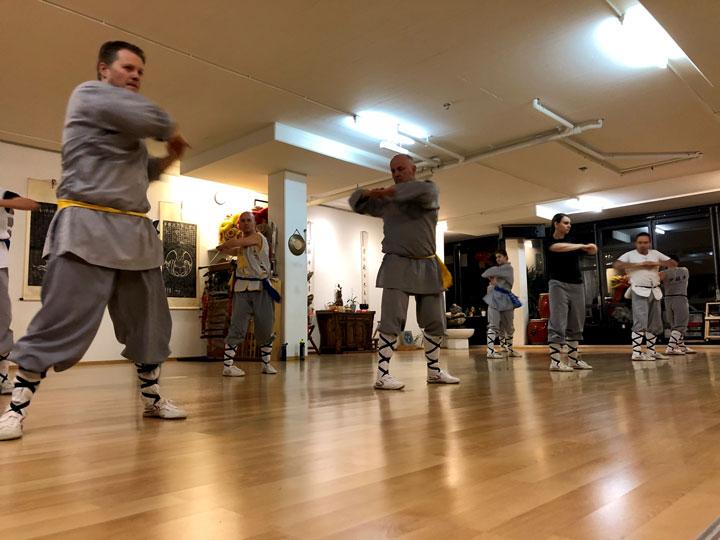 Kung Fu Aufwärmen