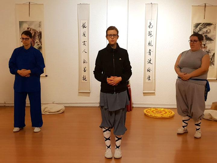 Qi Gong Übung für innere Mitte.