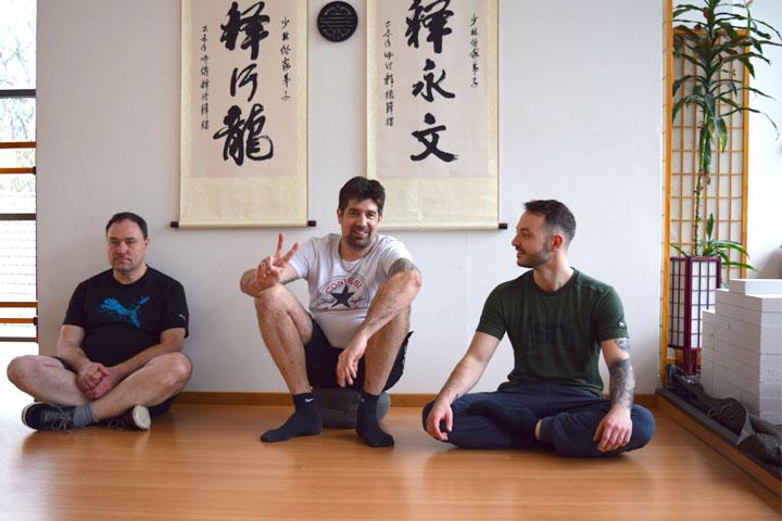 Schindler Aufzüge AG im Shaolin Chan Tempel Schweiz - Gruppenbild.