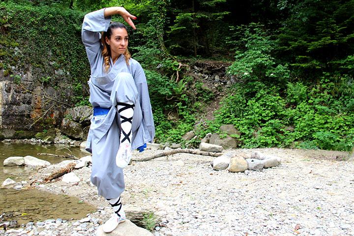 Kung Fu Portraitfoto für Lehrer Verzeichnis