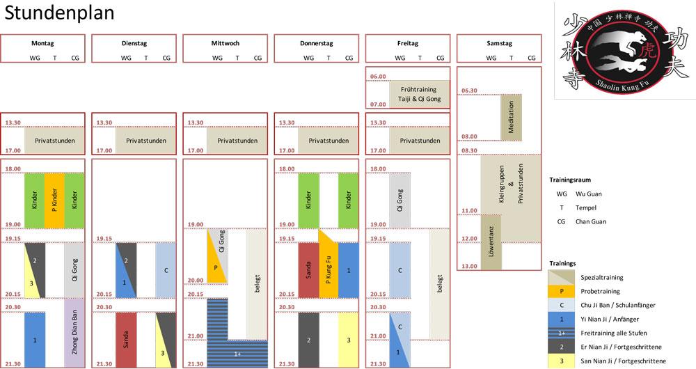 Stundenplan_Shaolin_Chan_Tempel