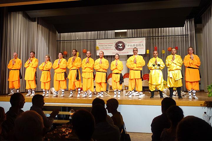 Das Shaolin Kung Fu Show Team vom Shaolin Chan Tempel Schweiz