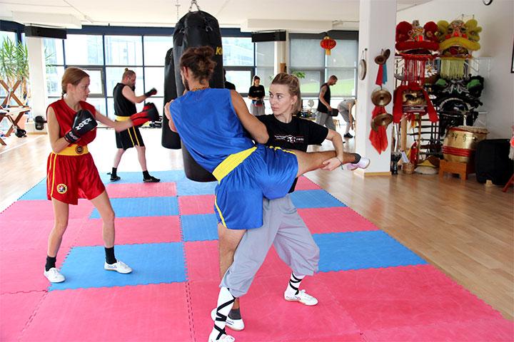 Kampfsport Würfe und Training in Luzern