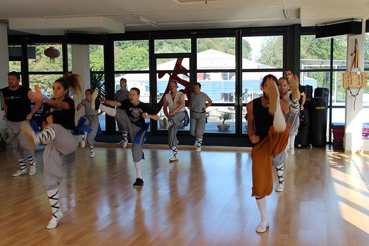 Shaolin Kung Fu Unterricht in Luzern.