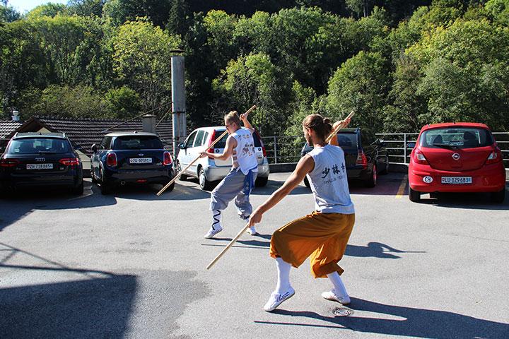 Kung Fu Unterricht in Luzern
