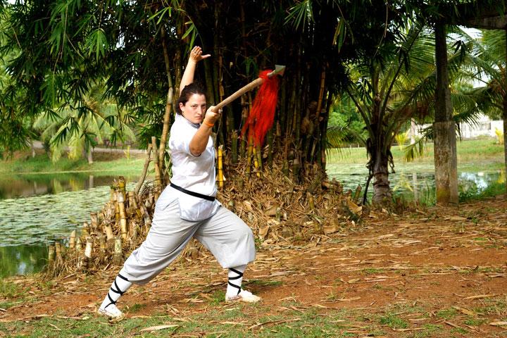 Kung Fu Portrait von Vanessa Eicher