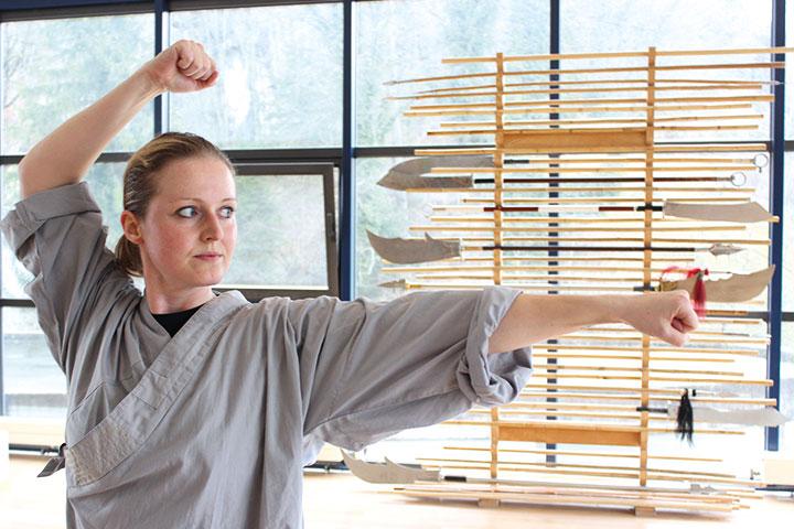 Kung Fu Schülerin