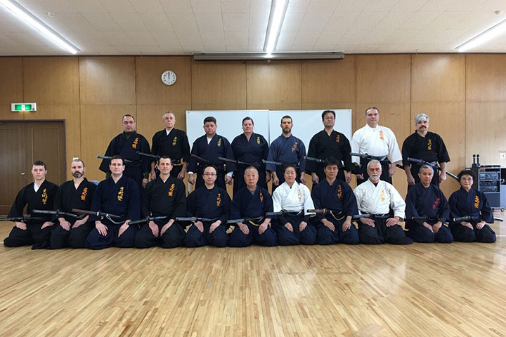 Iaido Gruppenfoto