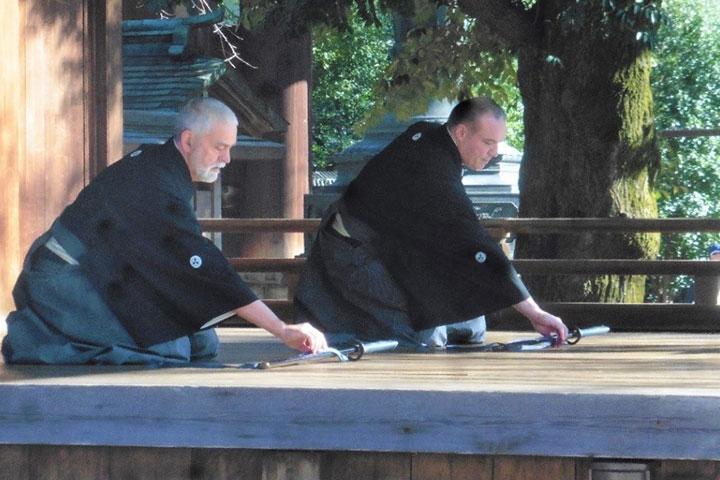 Iaido Übungen
