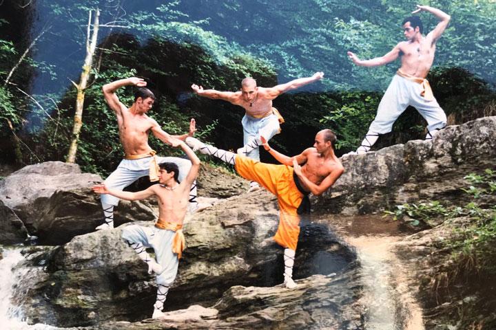 Kung Fu Athleten