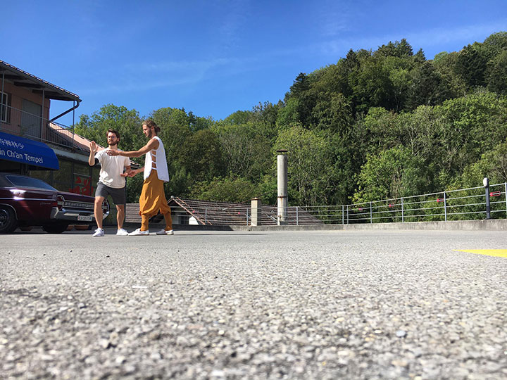 Kung Fu Lernen im Shaolin Chan Tempel Luzern